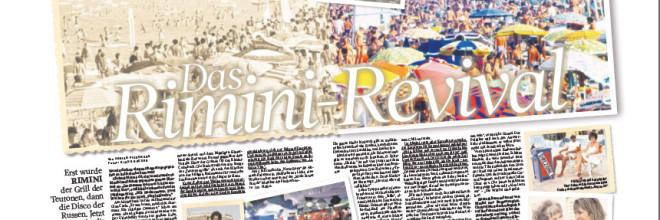 Bild am Sonntag: Das Rimini Revival