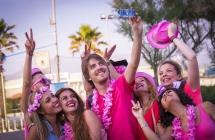 """Una nuova """"magia"""" della Notte Rosa Circa 2 milioni e mezzo di persone in festa"""