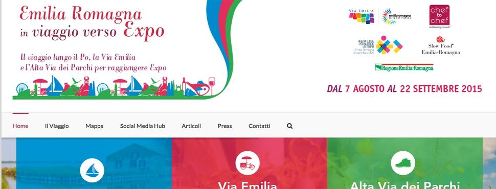 L'Emilia Romagna in viaggio verso Expo