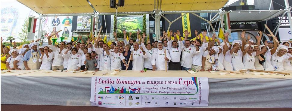 Una Regione da record, i 50 ripieni dell'Emilia Romagna