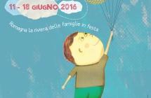 """Riviera Romagnola in festa dall'11 al 18 giugno per la terza edizione de """"Il Festival dei Bambini"""""""