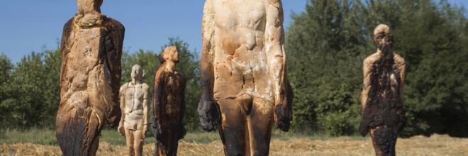 Arte e bellezze ambientali del paesaggio: sculture di pane a San Paolo in Alpe