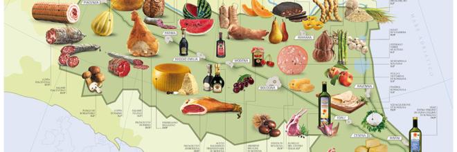 L'Emilia Romagna consolida il record in cucina Leader in Europa con 44 marchi tra Dop e Igp