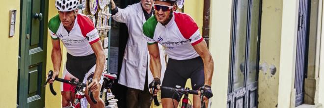 """Chef, giornalisti e turisti Usa in Emilia Romagna Bike tour con gran finale ad """"Al Meni"""" a Rimini"""