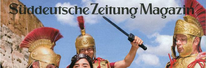 Sueddeutsche Zeitung Magazin: Amore fuer immer