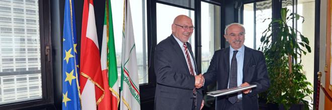 L'assessore Melucci incontra il presidente del Bundresrat