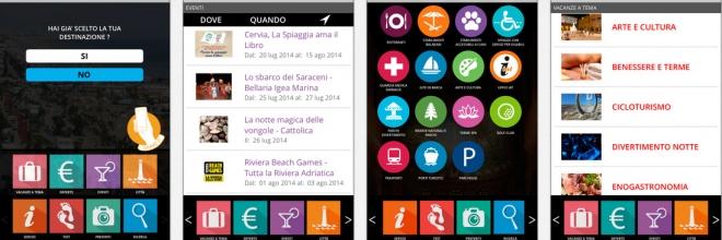 E' nata RomagnApp: La vacanza in Romagna a portata di… touch