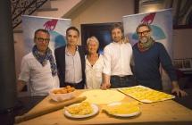 Massimo Bottura con i grandi chef da tutto il mondo a Rimini  per 'Al Meni', il Circo 8 e 1/2 dei sapori fra Fellini e piatti d'autore
