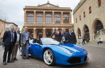 La stampa mondiale prova la nuova Ferrari 488 Spider Palcoscenico tutto romagnolo per il test drive