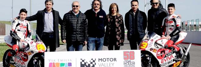 La Motor Valley dell'Emilia Romagna correra' insieme al SIC58 squadra corse nei circuiti di tutto il mondo