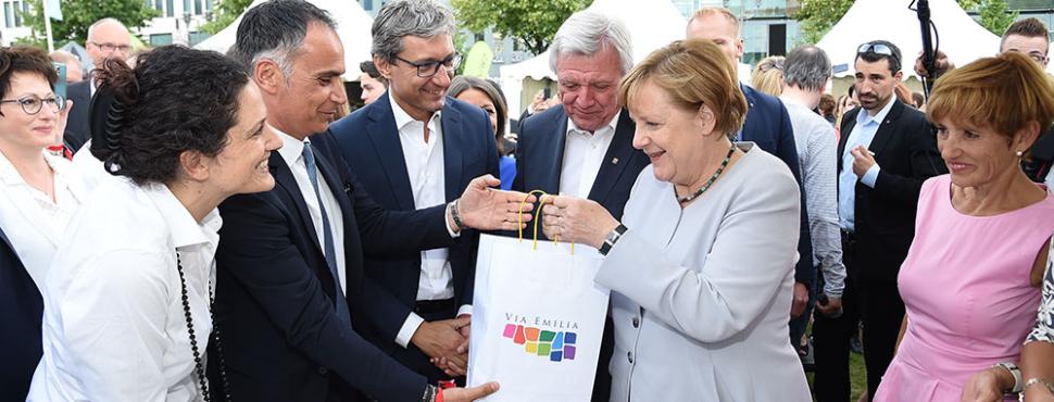"""Merkel: """"Siete il posto del cuore delle vacanze per i tedeschi"""""""