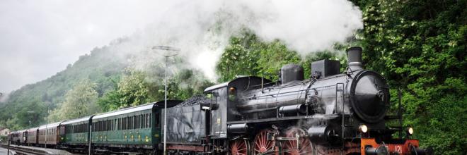 Con tre storici treni della Transappenninica in viaggio a Porretta per tre giornate slow uniche