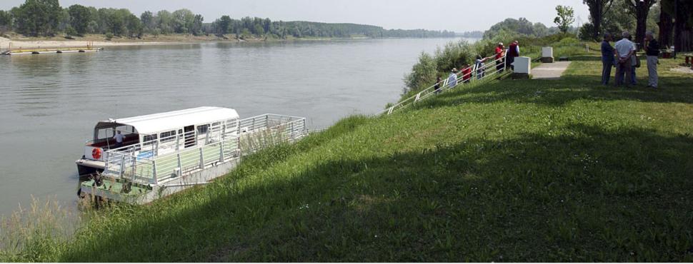La risorsa turistica del fiume Po