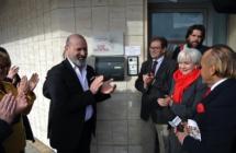 Il presidente Bonaccini a Savignano sul Rubicone alla sede di Sonora Casadei