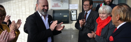 Il Presidente Bonaccini a Savignano sul Rubicone alla sede di Casadei Sonora
