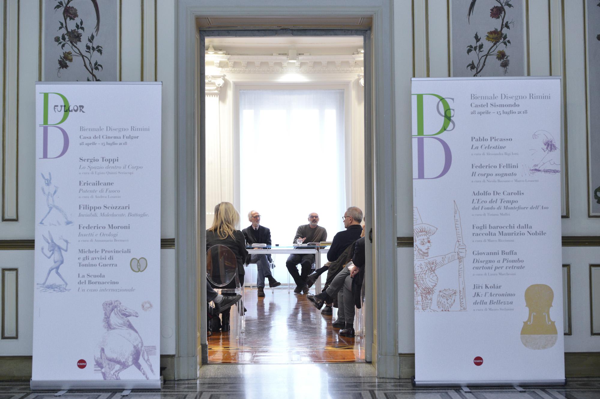 Rimini torna… in punta di matita: 33 mostre e più di 2.000 opere per ...
