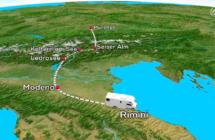 L'Emilia Romagna protagonista sulla tv tedesca: le immagini di Rimini aprono il TG meteo di SAT1