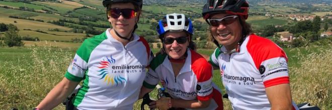 """A Bagno di Romagna il sesto Press Trip """"Emilia Romagna Cycling"""": giornalisti da Usa e UK nel weekend della Granfondo del Capitano"""