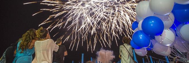 Oltre 70.000 in festa per la Notte Celeste delle Terme
