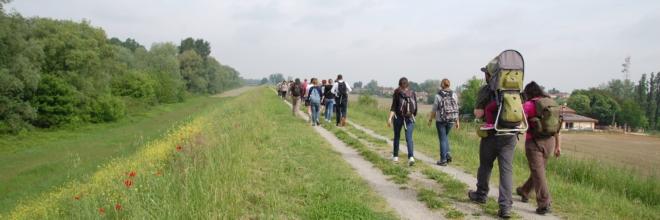 """""""Social Trek"""": terzo appuntamento domenica 16 sulla Via Romea Germanica  assieme alle guide AIGAE e alla community Igers dell'Emilia Romagna"""