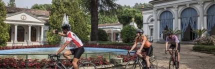 Cicloturismo in Emilia Romagna: a Riolo Terme eductour con giornalisti e blogger da Canada e UK