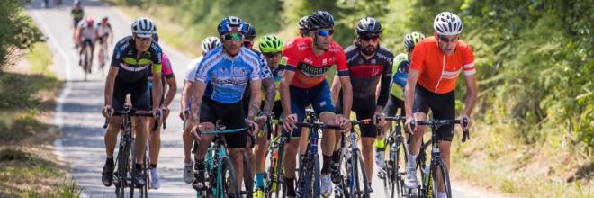 Quattro bike giornalisti da Australia, Canada, Belgio e Germania ospiti di un Press Trip nel weekend della Granfondo Squali 2019