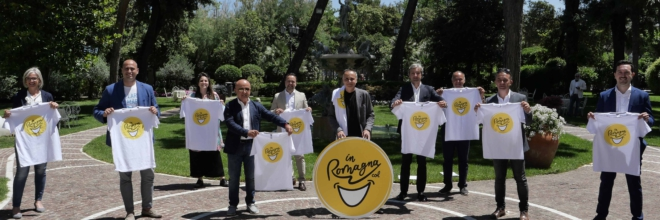 La Romagna, il sorriso degli Italiani, va in tv: Parte la campagna straordinaria da 2,7 milioni di euro  sulle reti nazionali in prime time