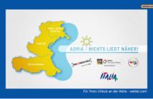 Romagna, Veneto e Friuli Venezia Giulia: Niente di più vicino! La Riviera dell'Alto Adriatico si promuove insieme in tv in Germania