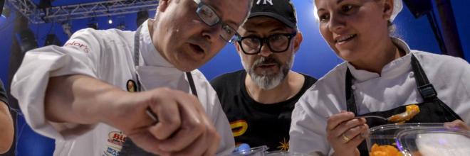 Massimo Bottura e 24 chef italiani a Rimini  per la settima edizione di 'Al Meni'
