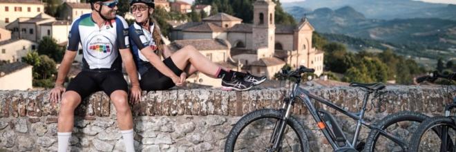 Un Tour Operator inglese e due giornalisti svizzeri al Fam Trip  di Apt Servizi e Terrabici dedicato alle tre tappe romagnole del Giro