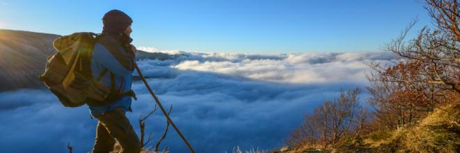 Passeggiate invernali nel silenzio dell'Appennino Ecco i trekking del momento a due passi dalla città