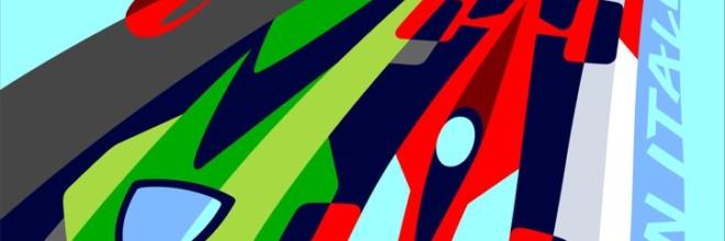L'energia e i colori del Made in Italy nel poster ufficiale del Motor Valley Fest
