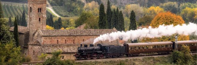In viaggio col Sommo, parte il Treno di Dante: da Firenze a Ravenna lungo la linea faentina, con fermate nei borghi che hanno ispirato il Poeta