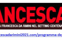 RIPARTONO CON RINNOVATO ENTUSIASMO GLI EVENTI DI FRANCESCA2021