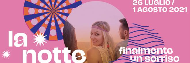 """Pink Week 2021: dal 26 luglio al 1 agosto la Romagna si tinge del colore più dolce  La Notte Rosa diventa un settimana di eventi per portare """"finalmente un sorriso"""""""
