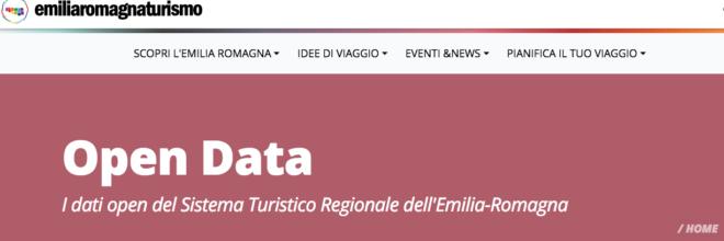 Emilia-Romagna prima in Italia a condividere i propri dati turistici sul Catalogo Nazionale API Pubbliche